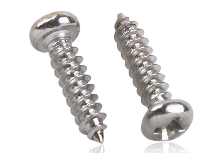 ASME B18.6.3 Self Tapping Screws , Self Threading Machinex Screws With Self Piecing Point